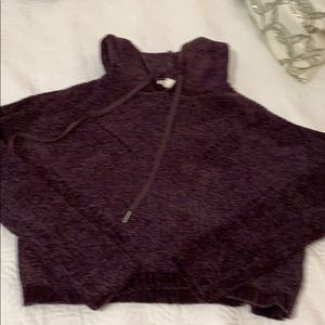 Garage cropped sweater- super soft- S